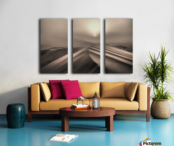 The perfect sandstorm Split Canvas print