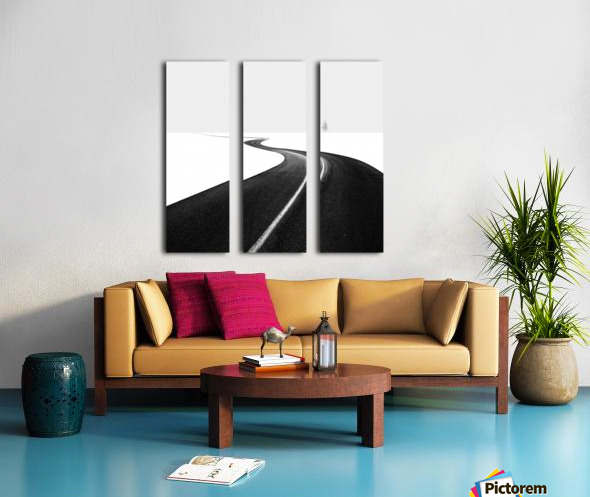 Road I Split Canvas print