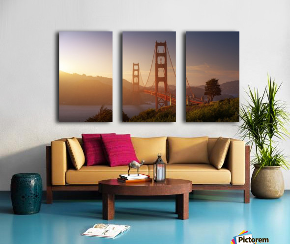 South Golden Gate. Split Canvas print