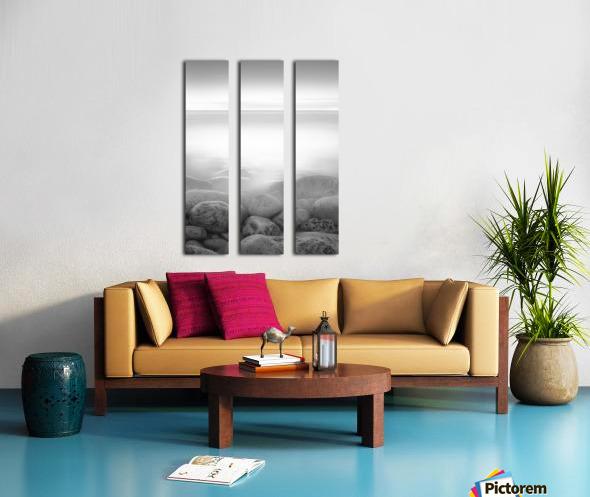 Moog Island Split Canvas print