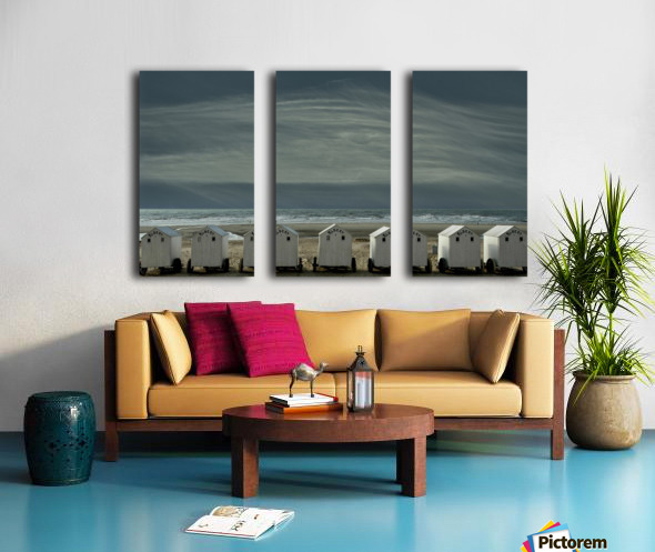 A quiet spot by the sea, just to 'be' ... Split Canvas print