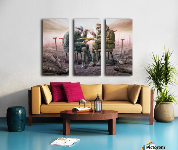 8 Krzysztof Grzondziel Split Canvas print
