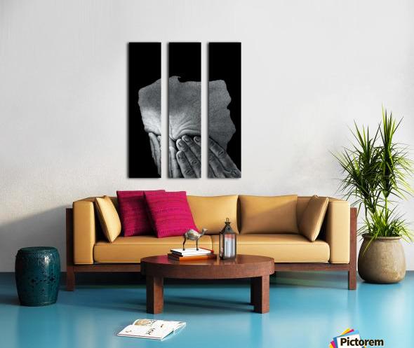 19 Krzysztof Grzondziel Split Canvas print