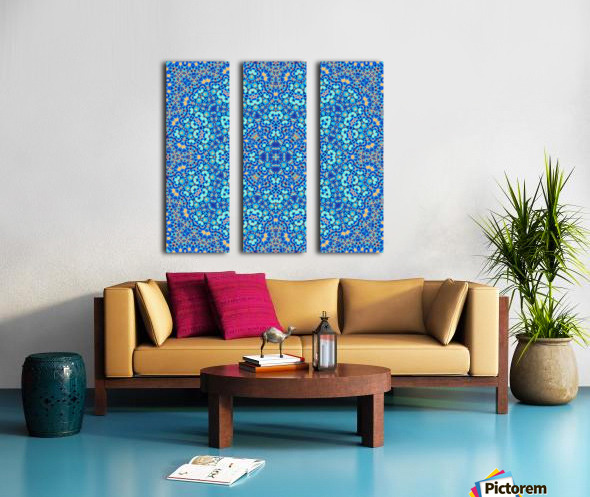 Mandala XIV Split Canvas print