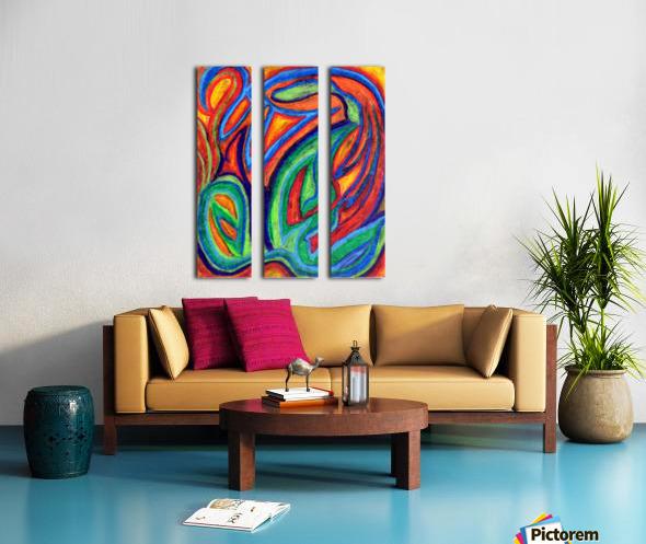 Floral Sense Split Canvas print