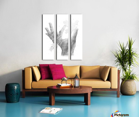 Pazzle Split Canvas print