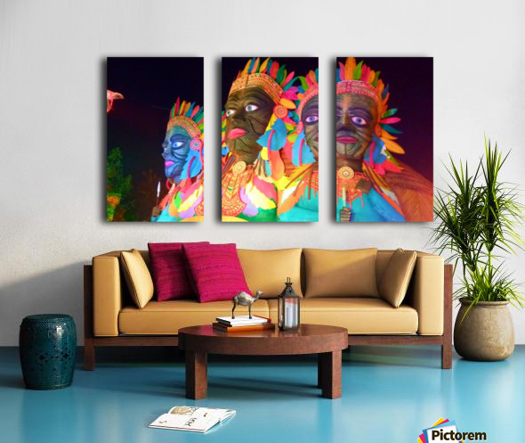 Decorations Split Canvas print