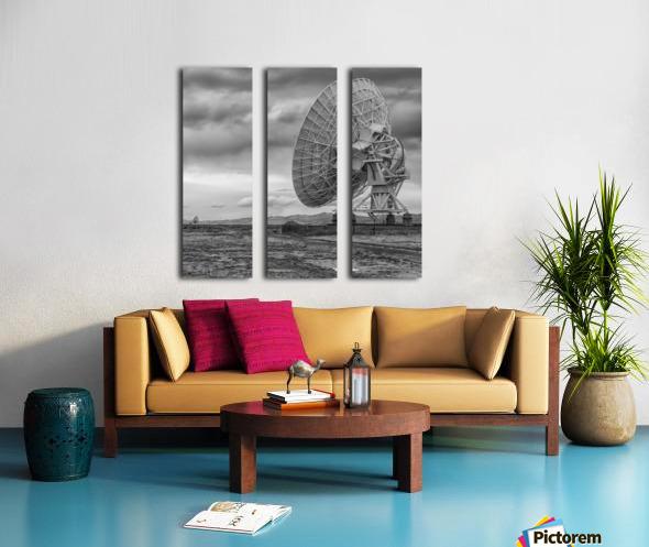 Very Large Array New Mexico Split Canvas print