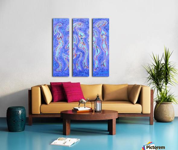 Les Demoiselles... Split Canvas print