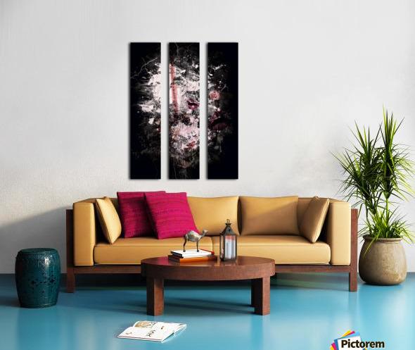 I Love Chanel N°388 Split Canvas print