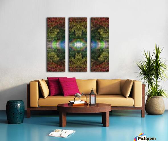 Accidental Portal Split Canvas print