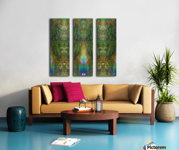 Mighty Tree Folks Split Canvas print