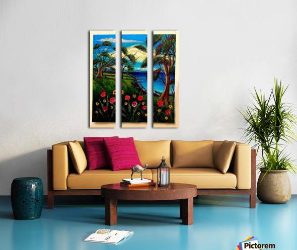 Spring Lake New Jersey Split Canvas print