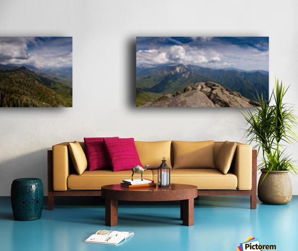 California Cloudscape Split Canvas print