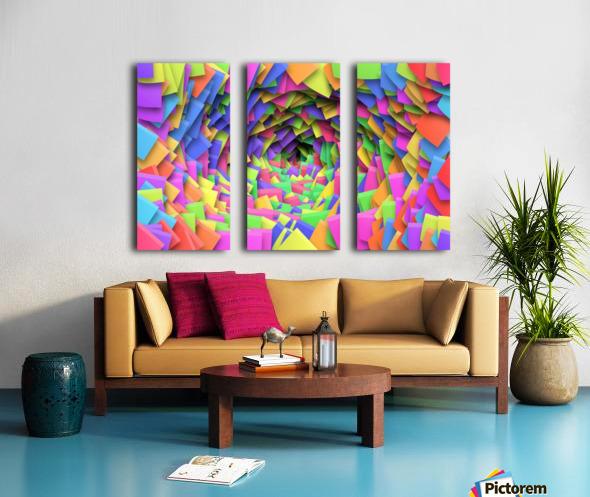 PERSPECTIVE Split Canvas print