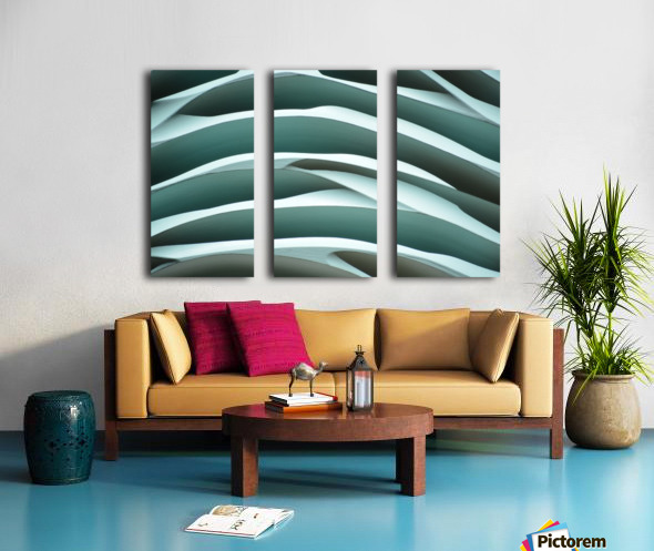 MYSTIC SEA X2 Split Canvas print