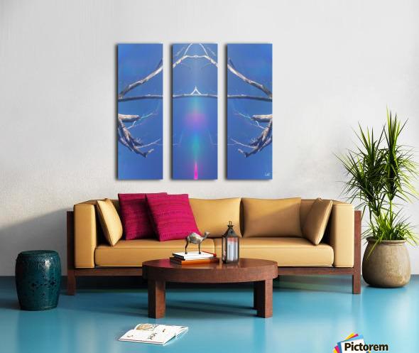 Hands of Time Split Canvas print