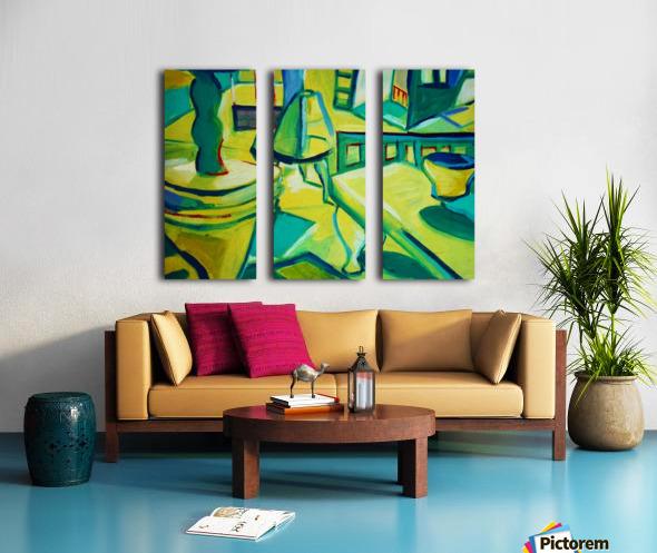 interno Split Canvas print
