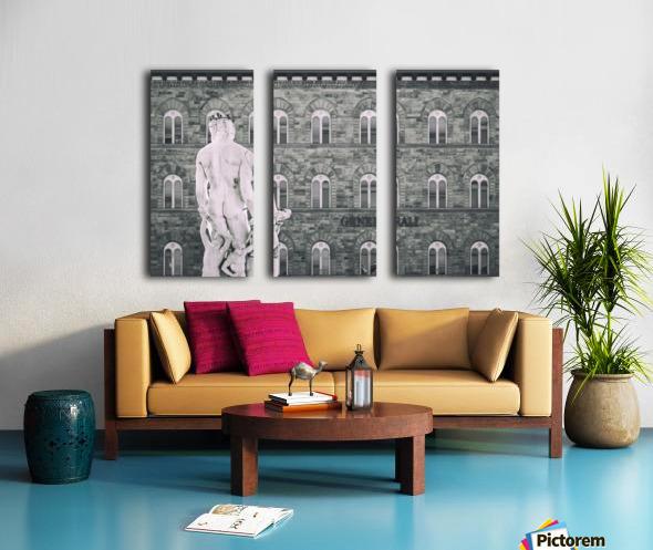 Generale di Firenze Split Canvas print