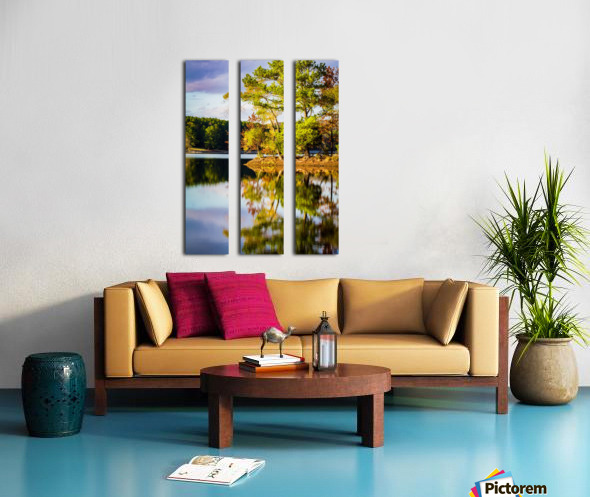 From Here Split Canvas print