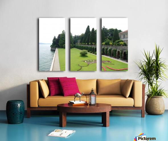 Island Lawn Split Canvas print