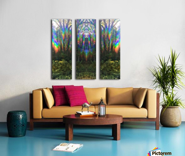They are Here Split Canvas print