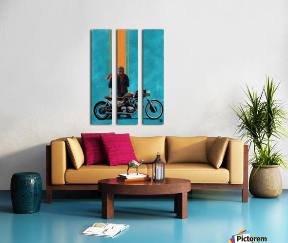 caferacer Split Canvas print
