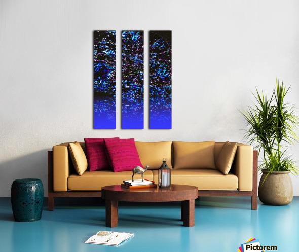 Sea_Glass_Harvest Split Canvas print
