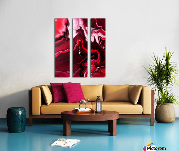 Cherries and Wine 2 Split Canvas print