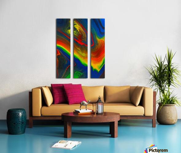 The Eye of a Storm Split Canvas print