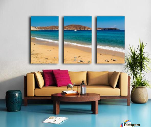 Summer Day Split Canvas print