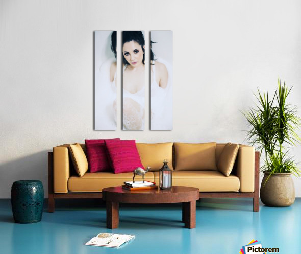 Glimpse Split Canvas print