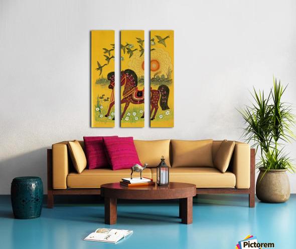 Vasnetsov horse Split Canvas print