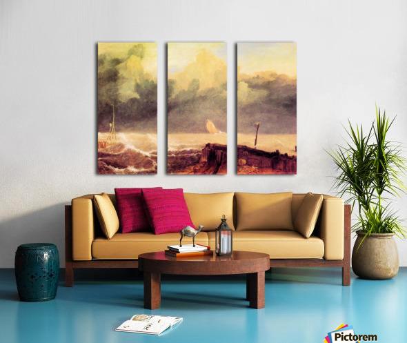 Port Ruysdael by Joseph Mallord Turner Split Canvas print