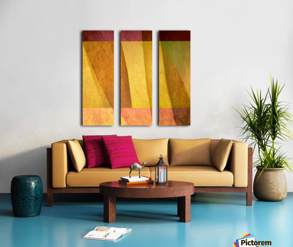 Intersections Split Canvas print