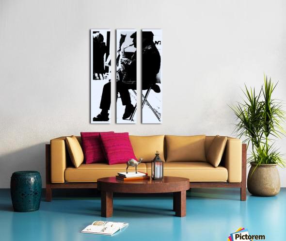 Busker II Split Canvas print