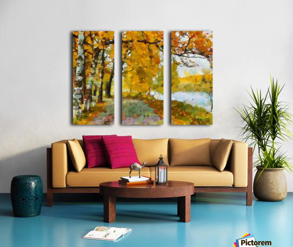 HC0274 Split Canvas print