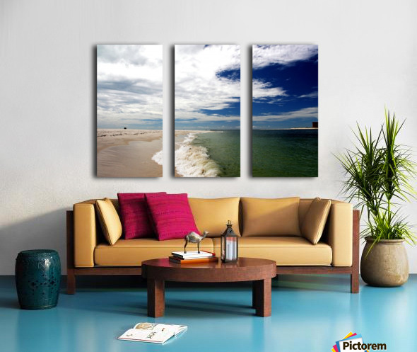 Shoreline Split Canvas print