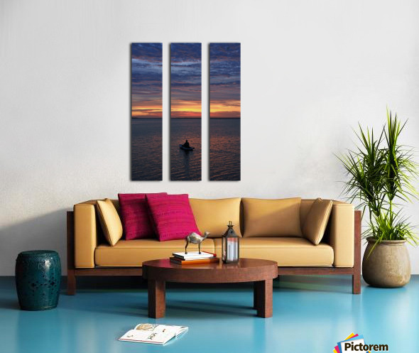 Calm for the Inner You Split Canvas print