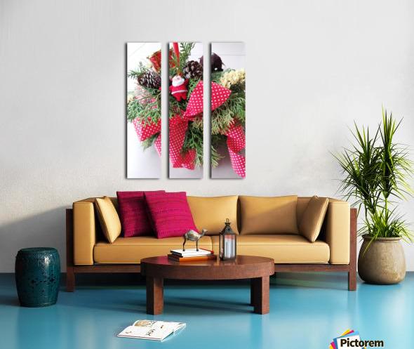Merry Christmas Day Split Canvas print