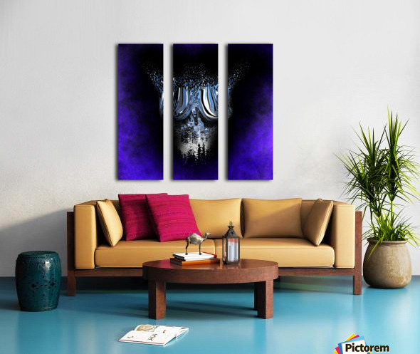 Ephemeral Desire 100 Split Canvas print