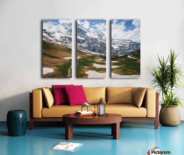 Trailhead Split Canvas print