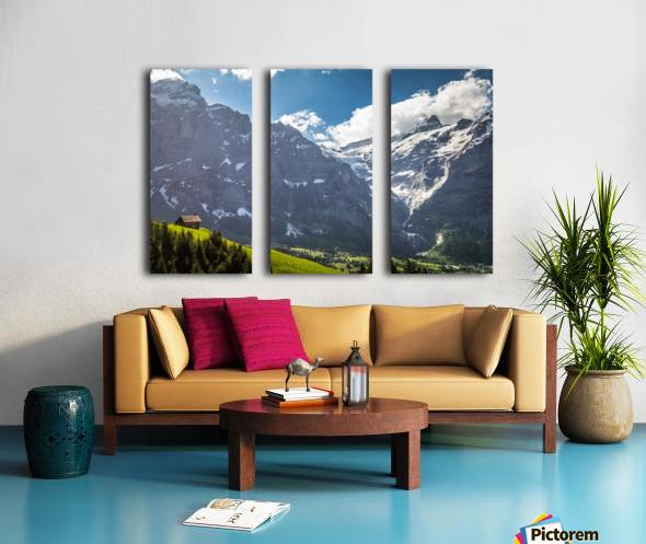 Hut Overlook Split Canvas print