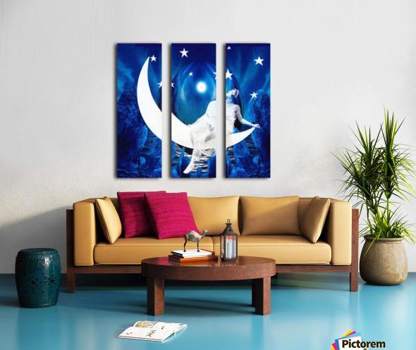 Starlight Split Canvas print