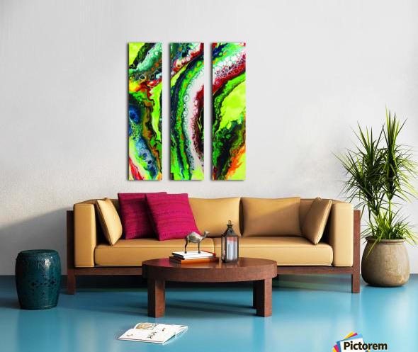 Fresh Earth  Split Canvas print