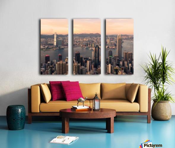 HONG KONG 08 Split Canvas print