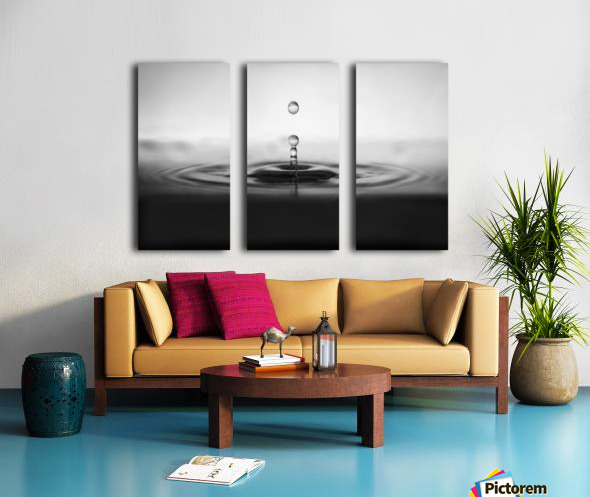 plop Split Canvas print