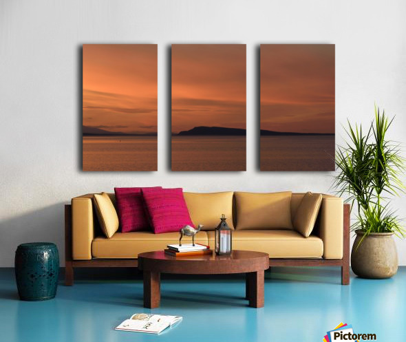 Summers end Split Canvas print