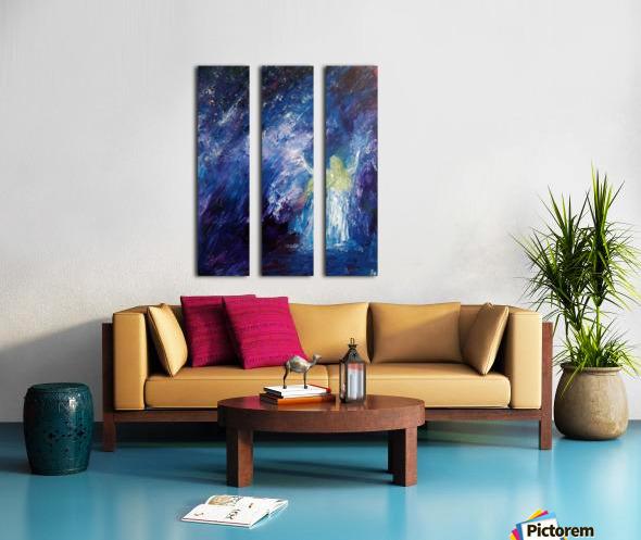 I am here Split Canvas print