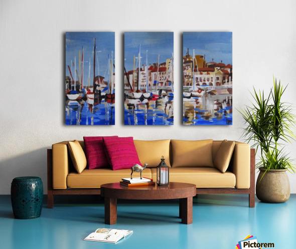 Marina Split Canvas print